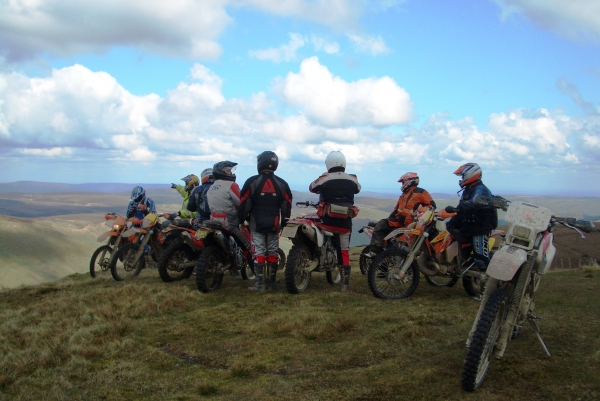 Another perfect day trail riding North Wales