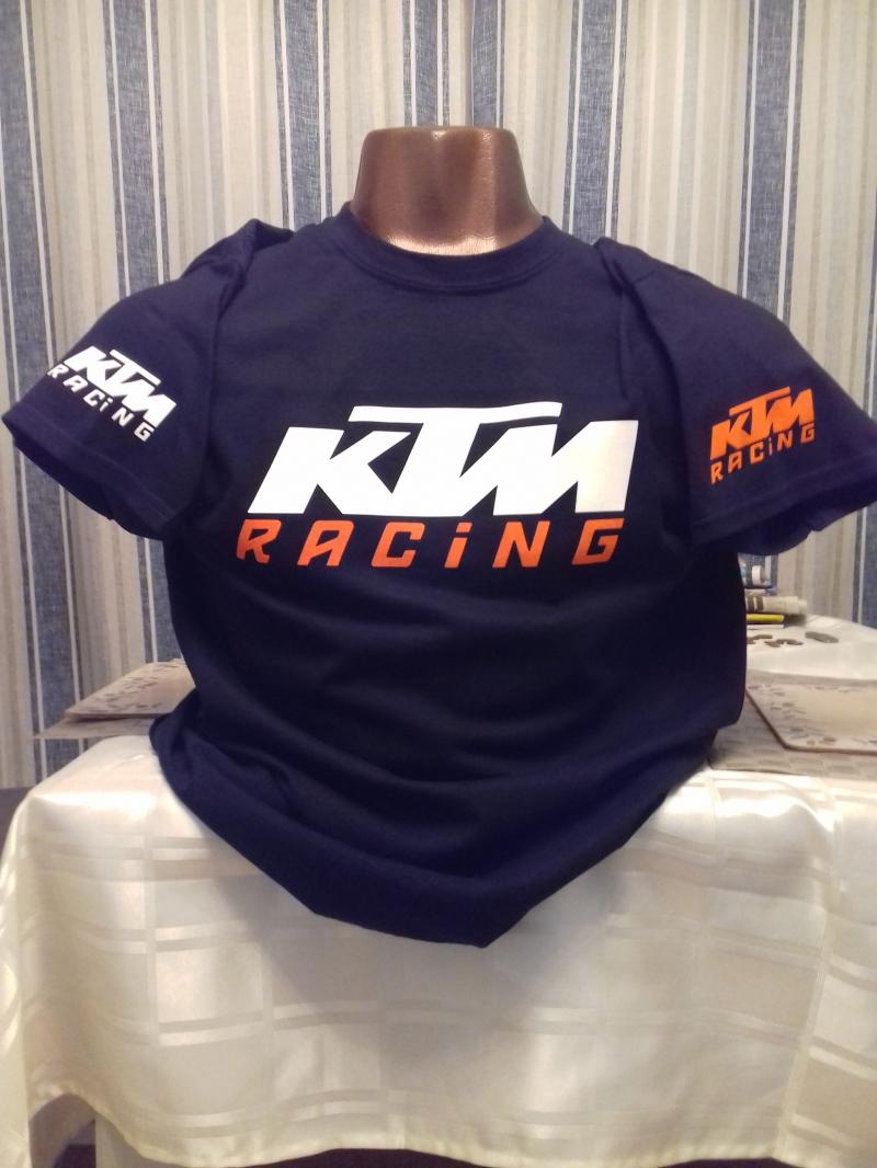 KTM BLACK TEE SHIRT