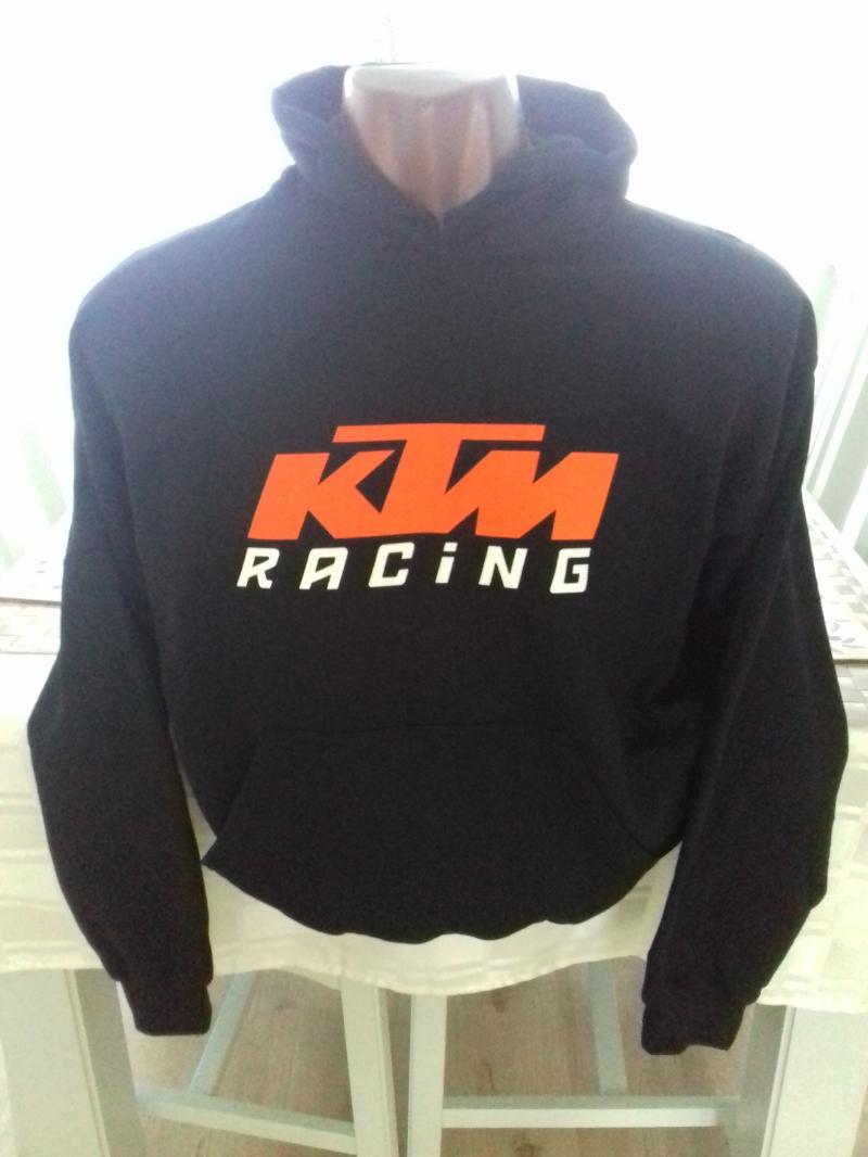 KTM HOODIE BLACK
