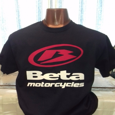BLACK OR NAVY BETA TEE SHIRT