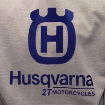 HUSQVARNA GREY HOODIE