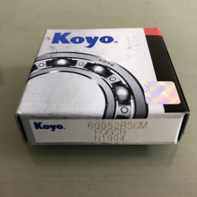 THE BEST YOU CAN BUY  Pack of 2   WHEEL BEARINGS KOYO High Quality 60052RSCM Rubber Sealed DEEP GROOVE BALL BEARING 25X47X12MM